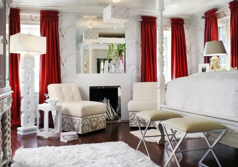 Smart ways to hang curtains to try at home decohoms - Pictures of different ways to hang curtains ...