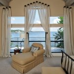 Ways To Hang Curtains Knobs Chaise Longue Big Windows Small Table Lamp Traditional Bedroom