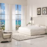 white bedroom furniture for adults pembroke square bed amia white mirrored cabinet aviator white leather sofa