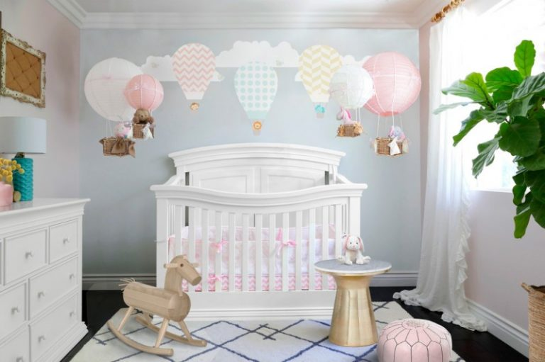Fabulous baby girl bedroom themes to adopt decohoms - Baby interior design ...