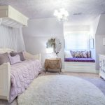 Baby Girl Bedroom Themes Daybed Net Crib Carpet Sidetable Nook Mirror Lamp Pillows Traditional Design