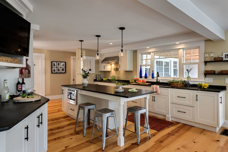 beadboard kitchen island mid century stool wide kitchen window nice glass kitchen pendants black granite countertop
