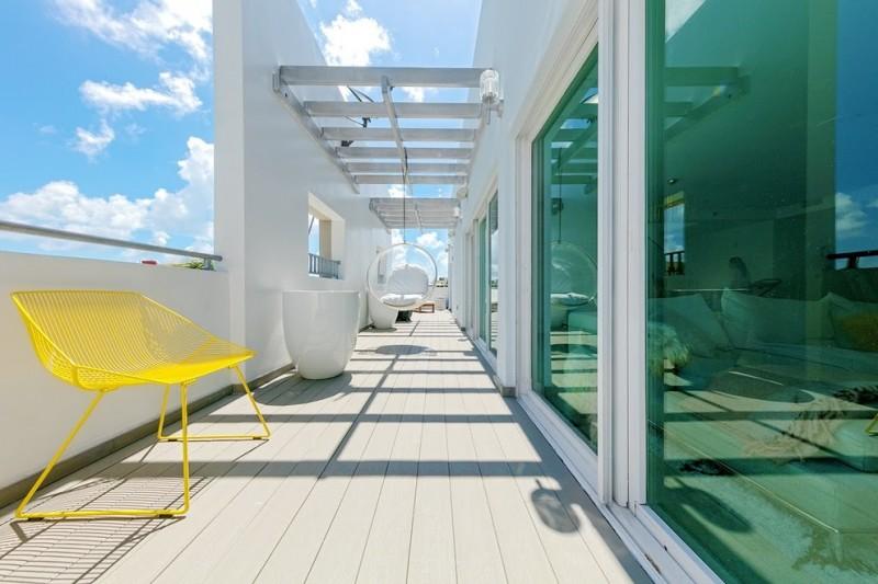 best deck paint chair walls glass outdoor area modern style