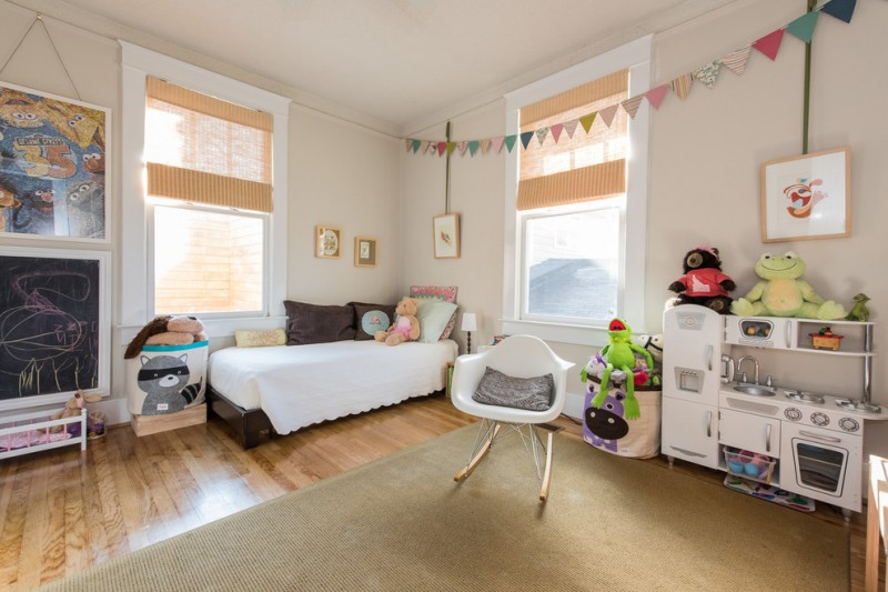 best play kitchens mini stove faucet sink fridge dolls beautiful floor windows bed pillows traditional kids room