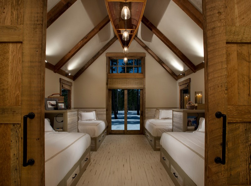 cabin designs and floor plans beds cool lamps underbed drawers storage pillows elegant rustic bedroom