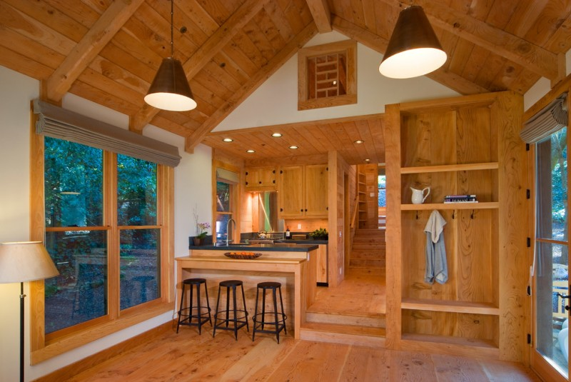 Interesting ideas for cabin designs and floor plans and for Small cabin interiors photos