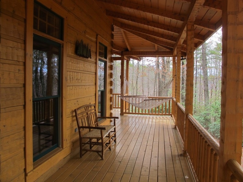 cabin designs and floor plans wooden deck railings wall ceiling seating pillars beautiful rustic deck
