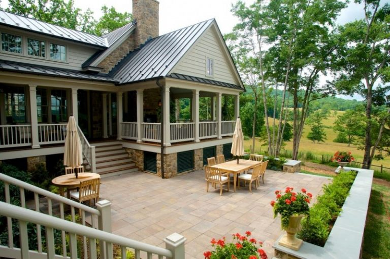 Wondrous country living house plans to make decohoms for House plans for patio homes