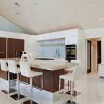 Design Your Own Kitchen Layout Corner Kitchen Modern Kitchen Barstools Futuristic Kitchen Cabinet Simple Storages