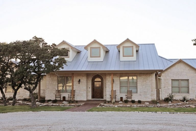 Old natural look for hill country home decohoms for Limestone homes designs