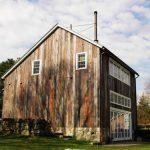 Houses That Look Like Barns Grass Windows Wood Walls Trees Cars Farmhouse Exterior