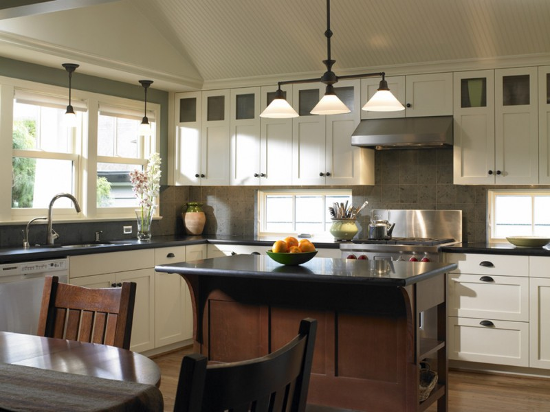 kitchen cabinets clearance chairs table white shaker cabinet windows lamps island sink faucet traditional room