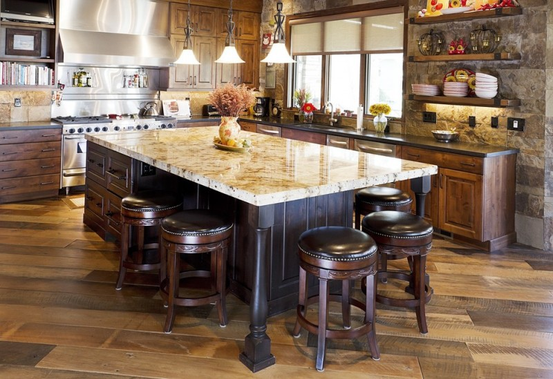 Cooktop Kitchen Islands That Attach To Ceiling