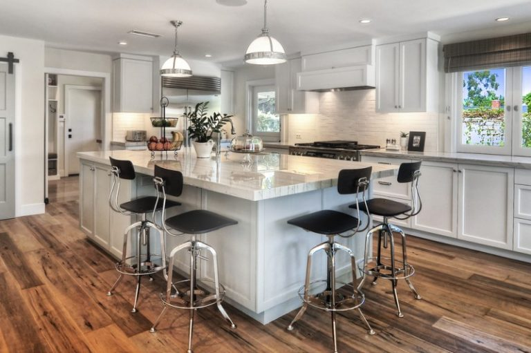 Large Kitchen Island With Storage And Seating