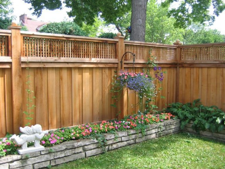 Cool lattice fence designs to get lattice fence design for Pretty fencing ideas