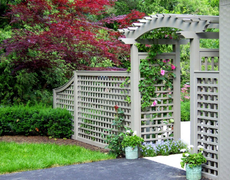 Cool Lattice Fence Designs To Get Lattice Fence Design