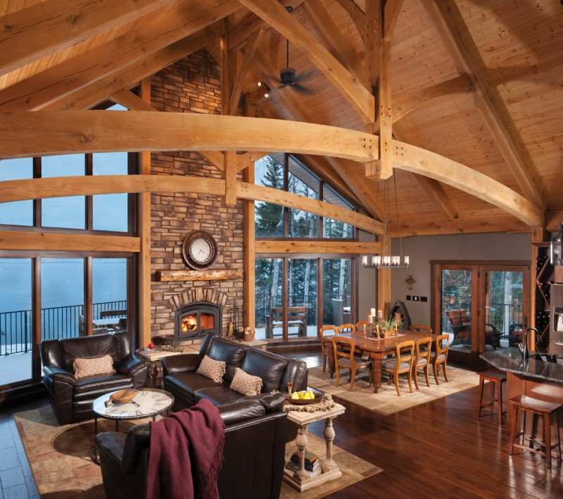 Brilliant Mountain Home Floor Plans to Apply | Decohoms on decks for mountain homes, fireplaces for mountain homes, open floor plans for beach homes, windows for mountain homes, covered parking for mountain homes, open floor plans for barn style homes,