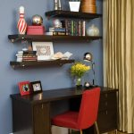 office decor ideas for work beautiful floor chair desk shelves books varied items lovely plants cool lamp curtain contemporary home office