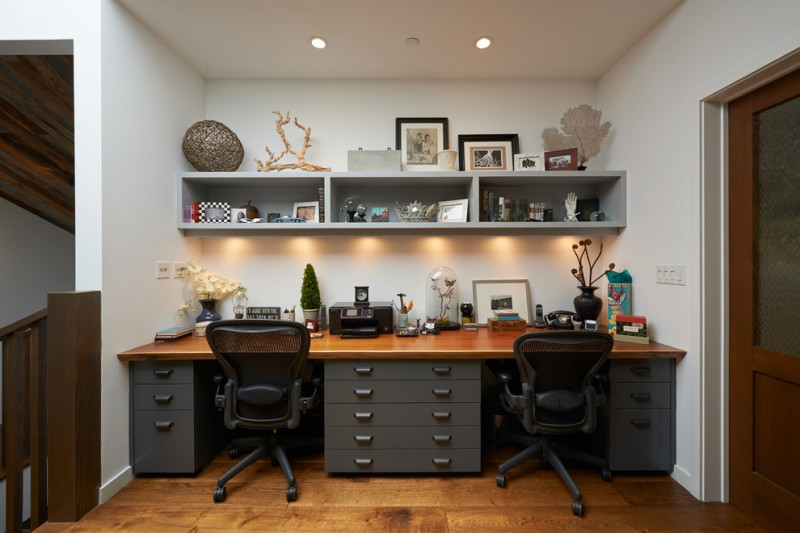 Appealing office decor ideas for work to apply at your for Idee arredamento studio casa