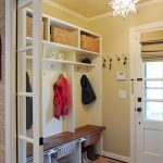 organization ideas for small spaces rug wall mounted shelves pendant door cabinetry traditional design