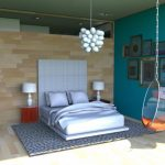 penthouses in los angeles bedside tables lamps ceiling lights bedroom