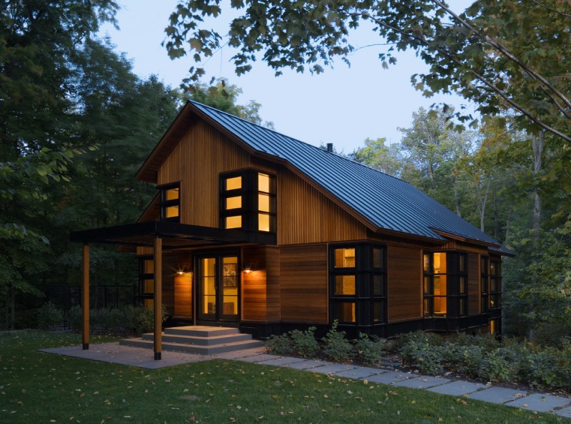 Stunning piling house plans to be amazed by decohoms Saltbox cabin plans