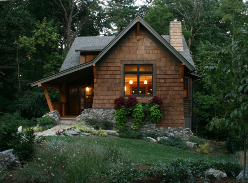 Beautiful rustic houses to get ideas for small rustic for Small rustic log cabin plans