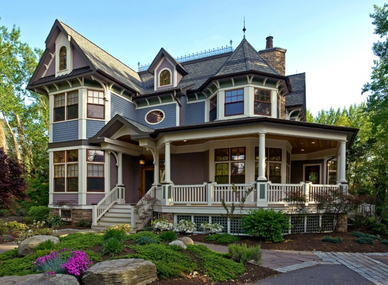 small victorian house plans towers porches steps railings pavers doors windows roofs pillars garden victorian style