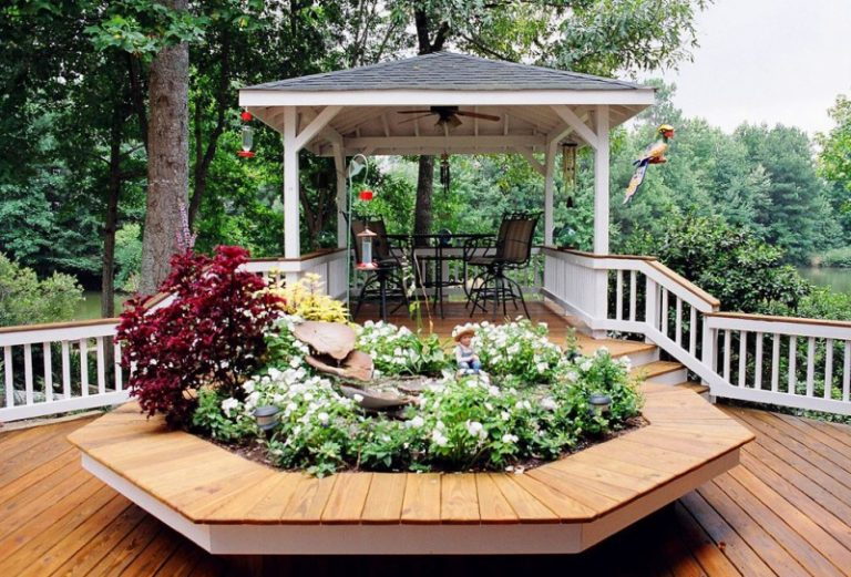 Square Gazebo Plans Antique Ceiling Fan With Lamp Iron Patio Furniture  Glass Table Wood Flooring Wood