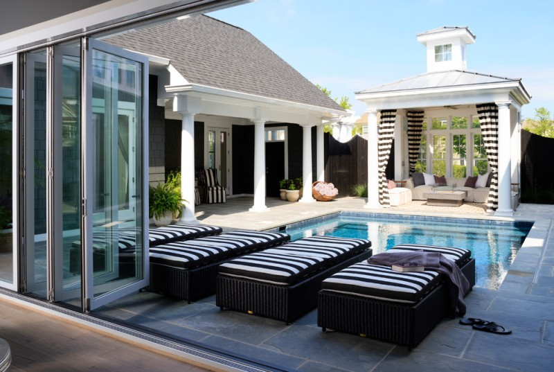 square gazebo plans modern house square pool black and white stripes gazebo curtain small dormer wide glass door white couch