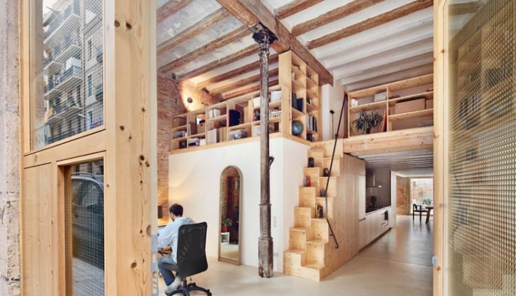 stair step bookcase books stairs bookshelves shelves scandinavian home office