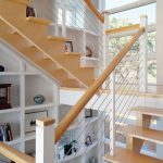 stair step bookcase stairs shelves bookshelves books industrial staircase