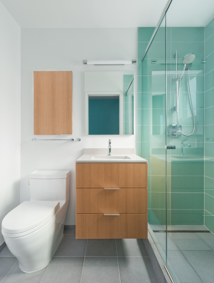 storage solution for small bathroom toilet mirror modern lamp glass door shower towel rack cabinet contemporary room