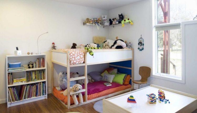 toddler bunk bed plans ikea kura reversible bed white natural paint large window bookshelf mounted dool shelf wooden play table