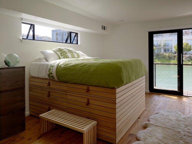 Space Efficient Under The Bed Storage Ideas And Beds To