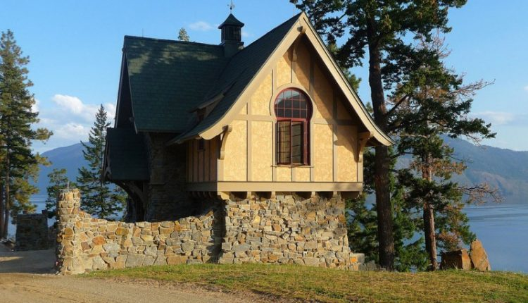 very small house plans trees scenery stone parts cool window roof cool rustic exterior