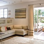 wall decorating ideas for living room curtains carpet sofa small tables pillows painting contemporary style room