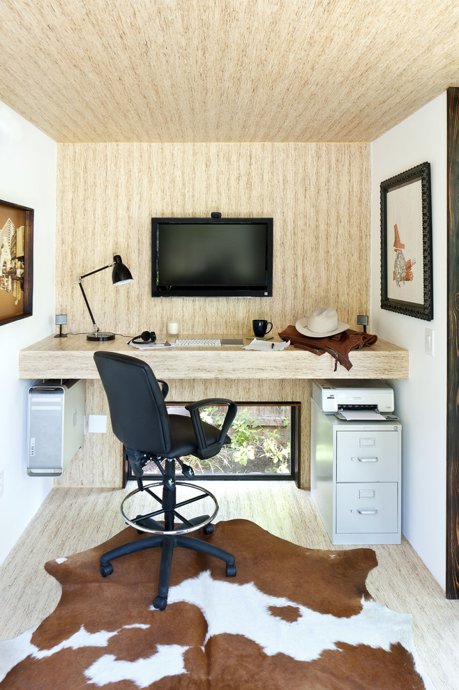 wall units with desk carpet monitor modern chair lamp printer cup decorations lovely home office