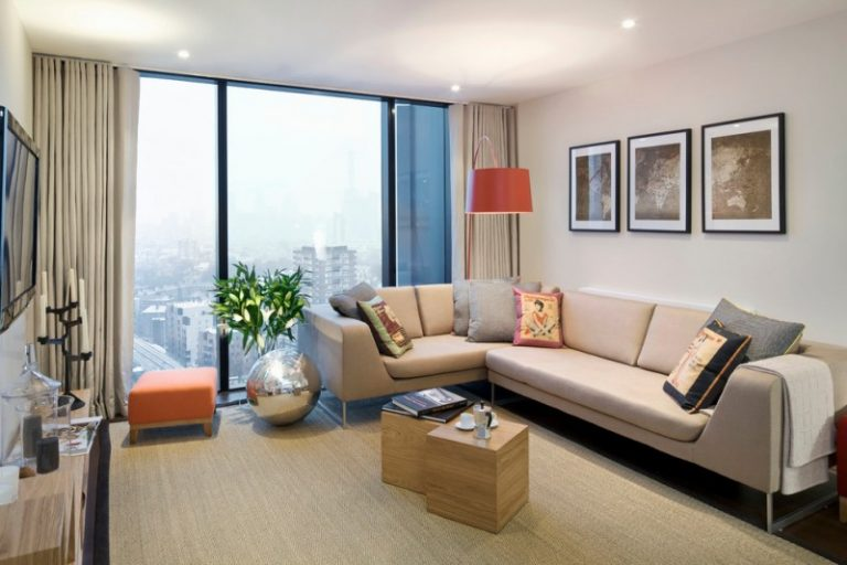 Complete Your Apartment With These Stylish Living Room
