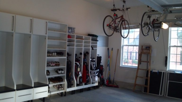 Choosing smart and efficient bike storage for apartment for Apartment garage storage