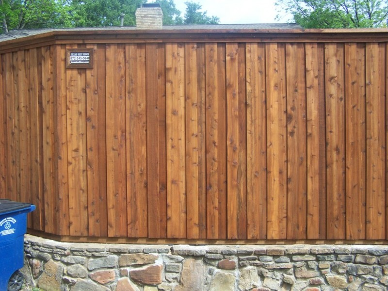 craftsman fence board on board fence stone fence hardwood fence