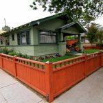 Craftsman Fence Redwood Fence Front Yard Fence Garden Fence