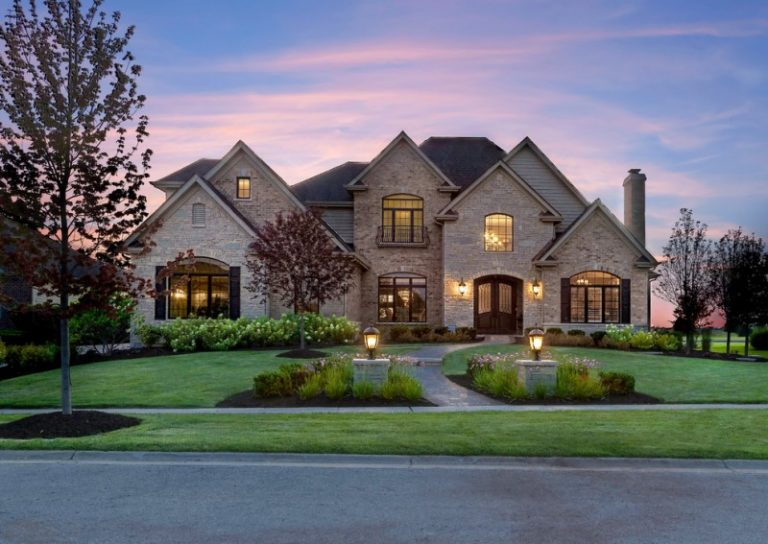 Ideal front yard landscaping ideas for good looking front for Nice looking houses pictures