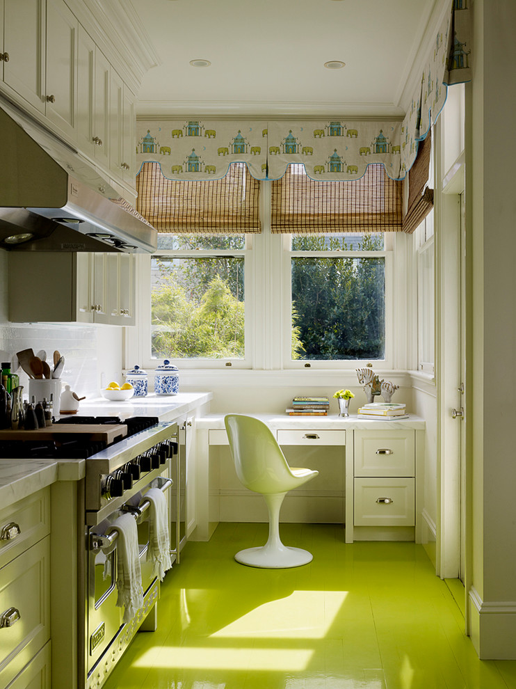 good colors to paint a kitchen green floor cool chair stove windows books wall cabinets contemporary room
