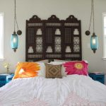 Hanging Lights For Bedroom Bed Windows Curtains Pillows Bedside Tables Flowers Mediterranean Bedroom