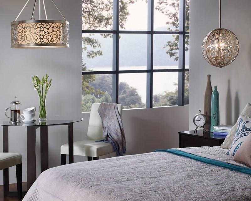 Bedroom Lights Over Bed