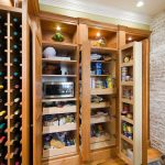 Large Industrial Kitchen Shelves Made Of Hardwood The Wine Rack Made Of Wood