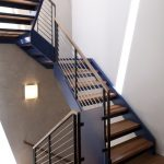 metal stair stringers stairs wood parts modern lamp cool staircase