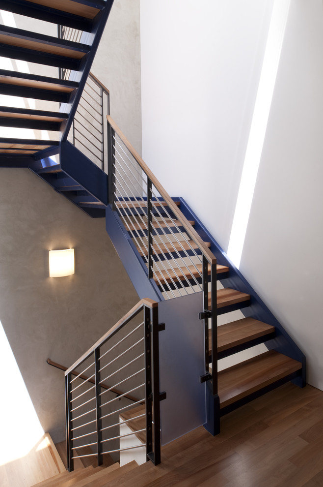 Cool Metal Stair Stringers To Get Stair Stringer Design