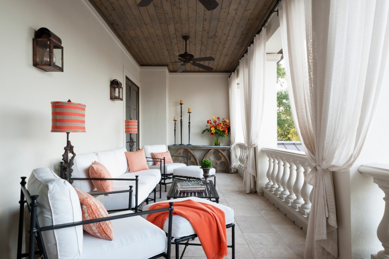 porch roof designs rose gold throw pillow cozumel fan powder coated matte black porch drapes iron furniture with white cushions